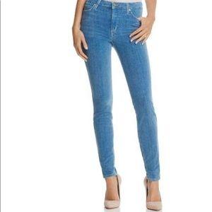 Joe's Jeans Charlie Velvet High Rise Skinny Jeans